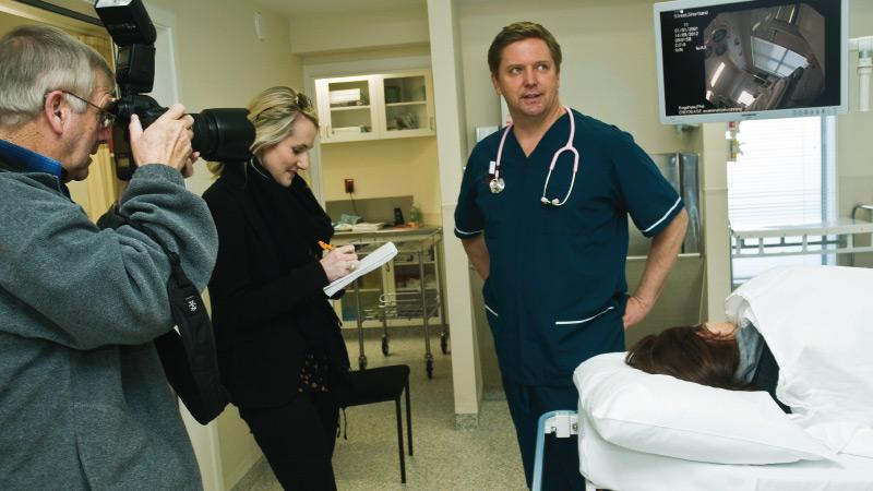 Michael Galvin at Charity Hospital